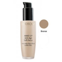 Maquillaje Antiedad Soft Focus. Anti-Age Soft Focus Make-up. Nº 6 Bronze. 30ml