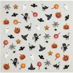 Adornos Adhesivos Para Uñas Halloween 149897
