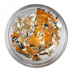 Papeles Metalizados Para Uñas Oro 149137