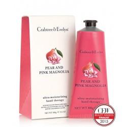 Crema de Manos Pear & Pink Magnolia Crabtree & Evelyn Hand Cream 100g.
