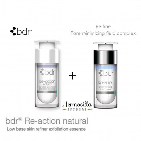 Re-fine + Re-action Natural de BDR